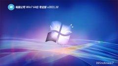电脑公司win7 64位完美企业版v2021.10